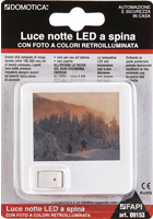 Luce notte LED a spina